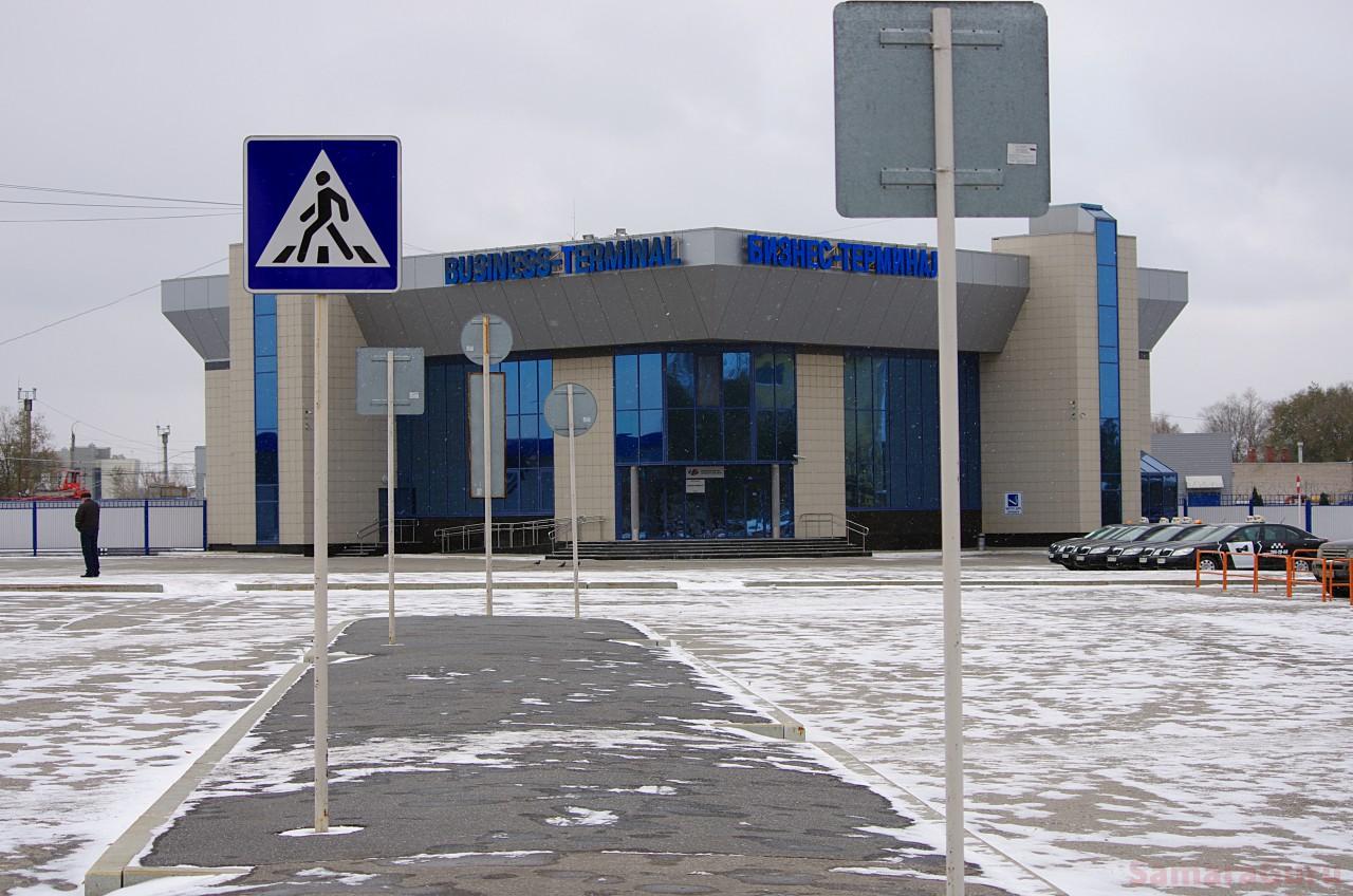 Business terminal at Kurumoch International Airport, Samara